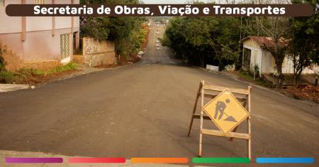 Recuperação das estradas de Linha Catarina Alta e Leopoldina e vias urbanas
