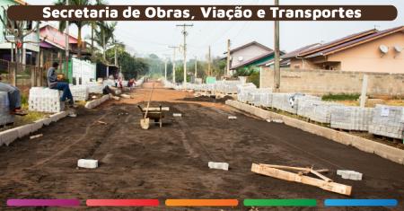 Prefeitura retoma obra de pavimentação nas ruas da Vila KS