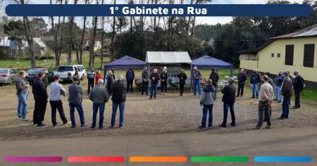 Mais de 40 pessoas participaram do Projeto Gabinete na Rua