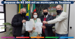 Affonso Hamm repassa R$ 500 mil para Teutônia