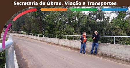 Reforma na Ponte de Linha Clara está concluída