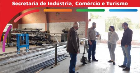 Barracão Industrial é reativado em Teutônia