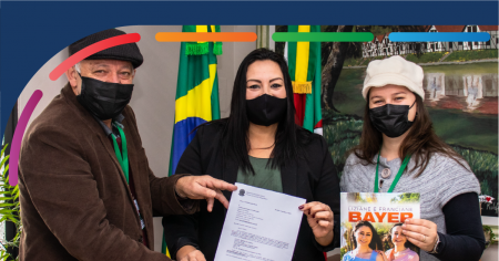 Liziane Bayer e Franciane Bayer repassam R$ 150 mil à Teutônia